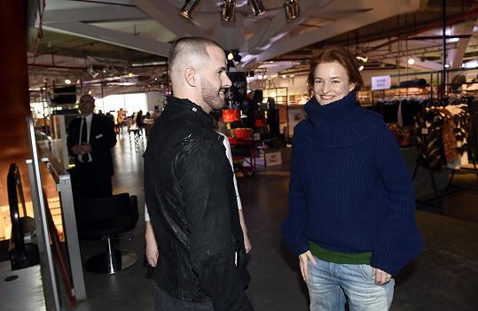Na oficiálním otevření projektu Czech Design Market by BIBLOO, který potrvá do 26.3., se spolu potkalo několik vystavujících módních návrhářů.