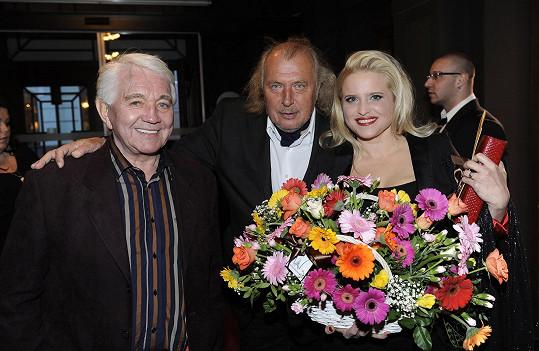 Jiří Krampol, Kristian Kodet a Alena Wilson