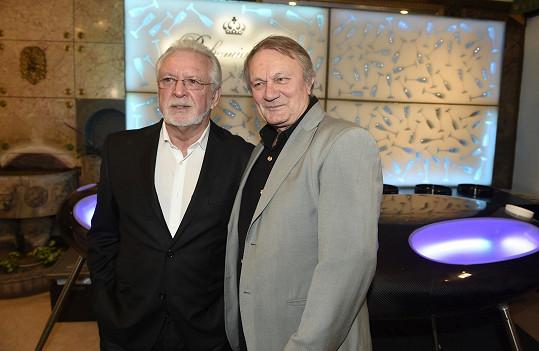 S představitelem jedné z hlavních rolí, scenáristou a koproducentem v jedné osobě Jaromírem Hanzlíkem