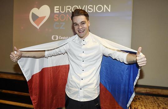 O účasti na Eurovizi snil, už když coby busker zpíval na ulici.