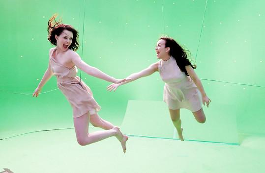 Petra a Mária se létání nebály.