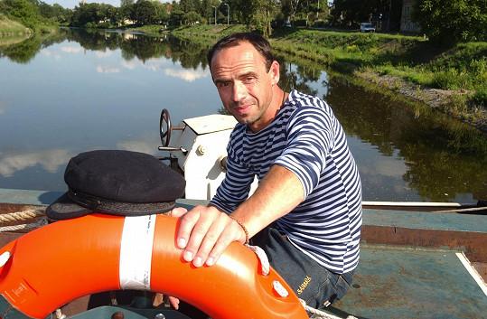 Petr Forman miluje vodu.