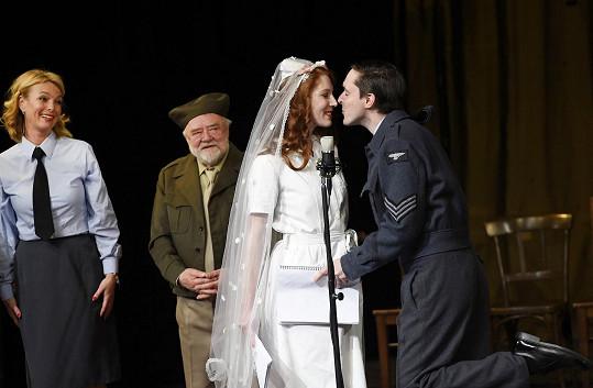 Nikol Kouklová a Karel Heřmánek mladší opět jako novomanželé