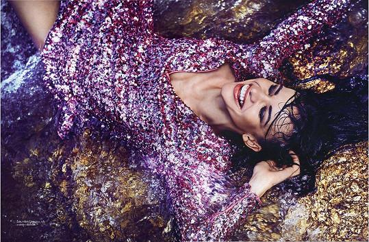 Denisa Kršková se prosadila jako modelka nezvykle až po dvacítce.