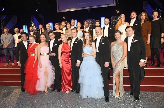 Všichni účastníci letošní StarDance