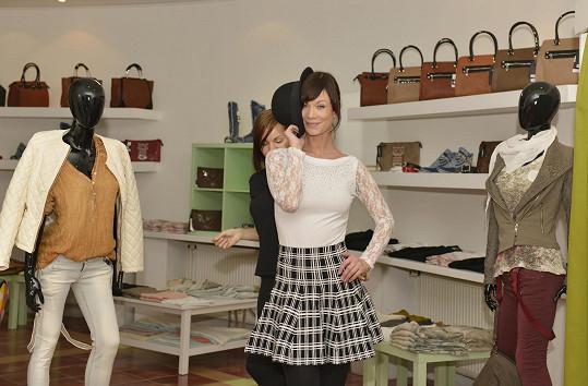 Šárka Ullrichová miluje nakupování oblečení.