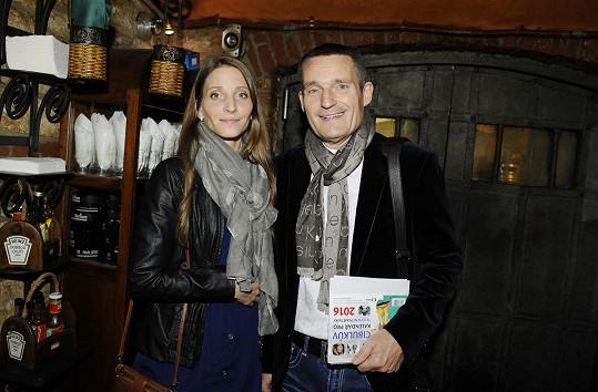 Vladimír Hron s manželkou Michaelou