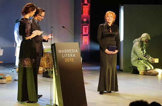 Dagmar Havlová v černých šatech zbytečně zestárla.