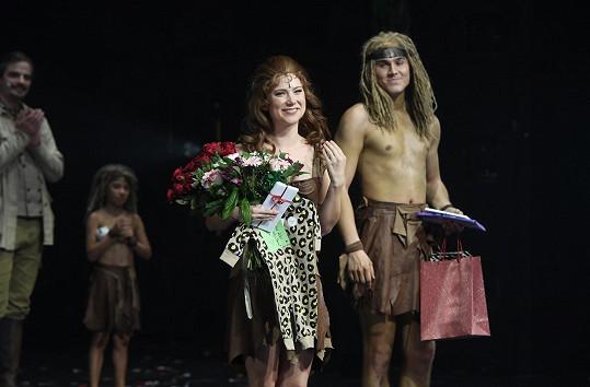 Ivana se rozloučila s muzikálem Tarzan a nastoupila na mateřskou.
