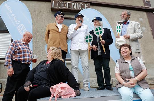 Herci z Ostře sledovaných vlaků po padesáti letech