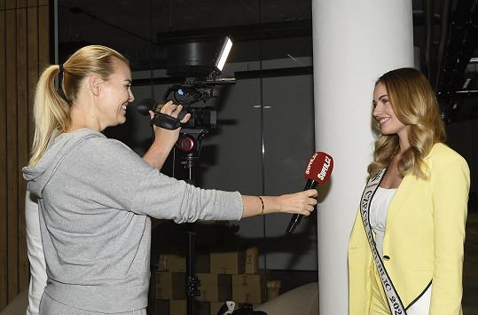 Natálie během rozhovoru pro Super.cz