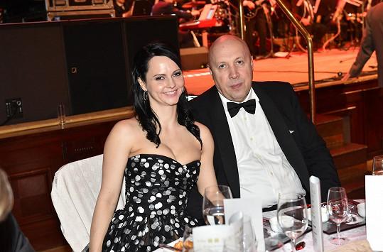 S partnerem, starostou Oldřichem Lomeckým.