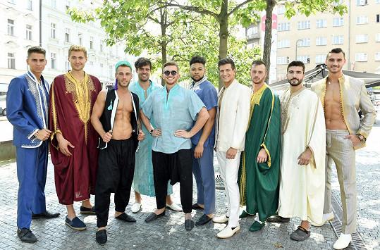 Finalisté Muže roku si tuniské kousky vyzkoušeli podruhé. Už je předváděli na soustředění v Súse.