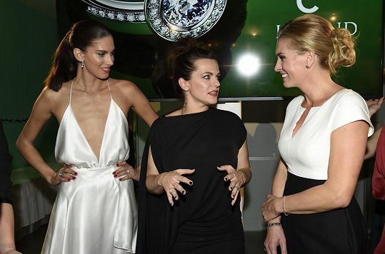 Na akci se potkala s dalšími ambasadorkami Martou Jandovou a Olgou Menzelovou.