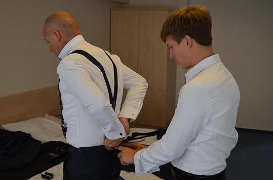 Honza Musil a jeho partner Jakub