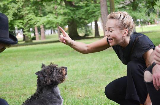 Katka miluje přírodu a nejen zvířata v ní.