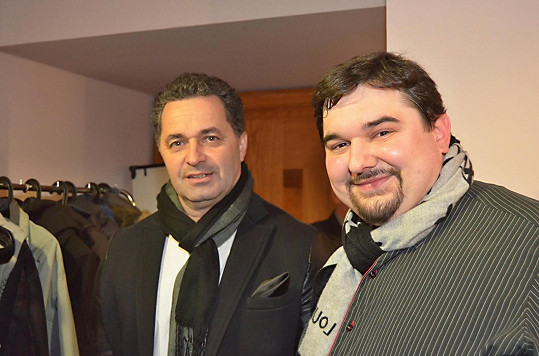 Tomáš Magnusek s Martinem Dejdarem