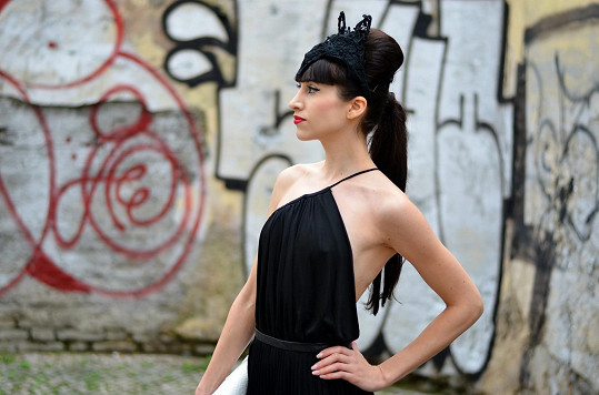 Blogerka Ina T. v modelu od Pietro Filipi