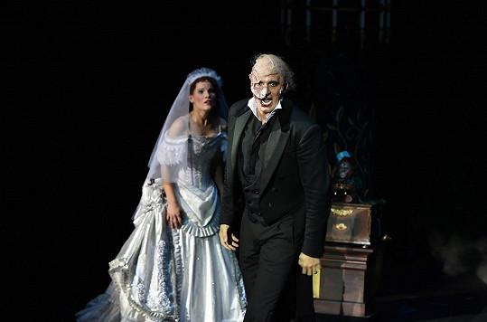 Gemrotová je hvězdou Fantoma opery.