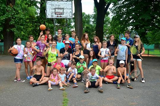 Po celý týden byly pro děti připraveny další různé sportovní aktivity.