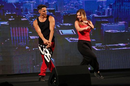 Vašek s Dominikou spolu tančili v rámci volné disciplíny.