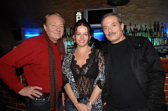S Luďkem Sobotou a jeho manželkou Adrianou