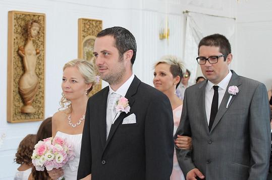 Svatba Radka Sekyry a jeho Katky