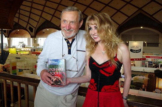 Ladislav Frej s Markétou Harasimovou