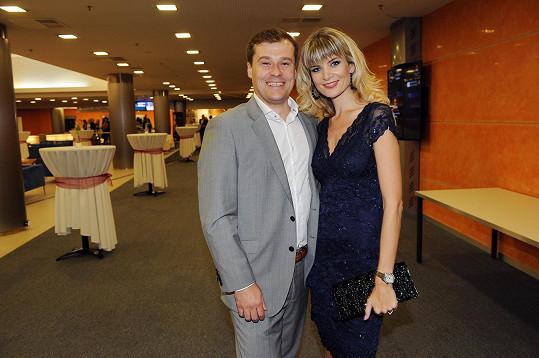 Iveta s manželem Jaroslavem
