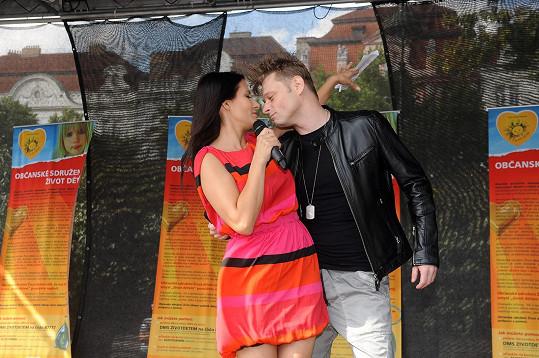 Na akci vystoupili i Eva Decastelo a Jarek Šimek.