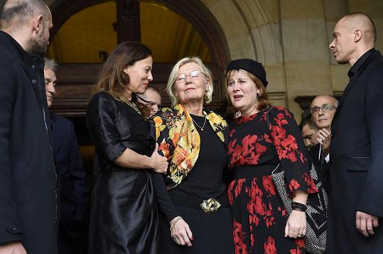 Karla Chadimová s dcerami Karlou a Janou