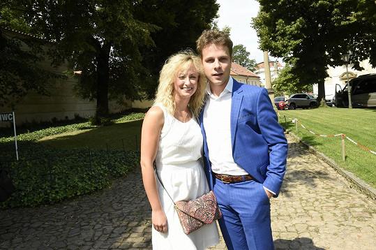 Jan Onder se letos po osmi letech rozešel s přítelkyní Lucií Hunčárovou.