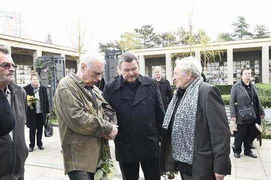 Ladislav Županič, Václav Postránecký a Antonín Hardt