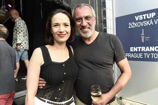 S kolegou Davidem Suchařípou