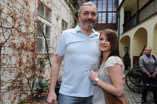 Dan Hůlka chodil s Šárkou Vaňkovou před deseti lety.