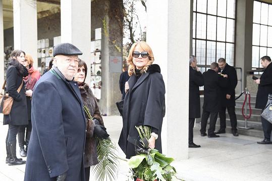 Vendula Pizingerová a Václav Hybš