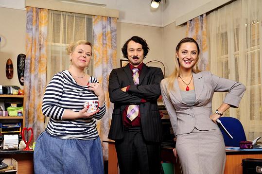 Původní obsazení sitcomu Marta a Věra doplní ve druhé řadě čtvrtá postava.