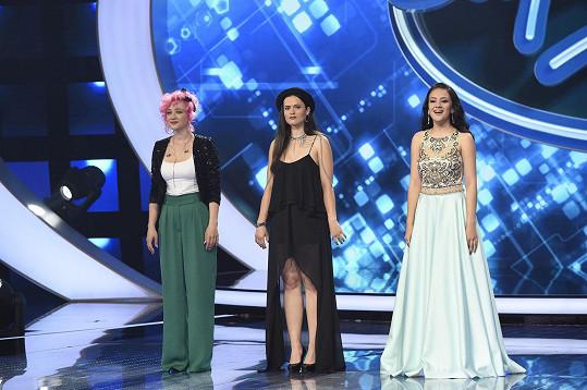 Na počátku finále byly tři - Tereza Mašková, Karmen Pál-Baláž a Eliška Rusková