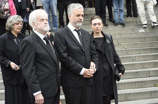 Syn Vránové Ondřej Kepka s tatínkem a manželem herečky Jiřím Kepkou