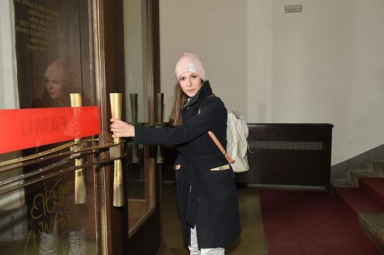 Veronika Kubařová hrála ve filmu Martina Dolenského Můj vysvlečenej deník.