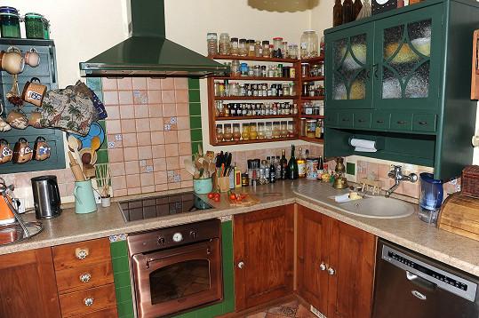 Vybavená kuchyň je základ.