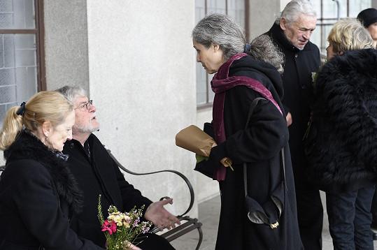 Táňa Fischerová s Janem Kačerem