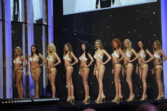 Česká Miss v plavkách, Andrea má číslo čtyři.