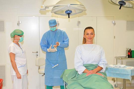 Na operačním sále těsně před operací