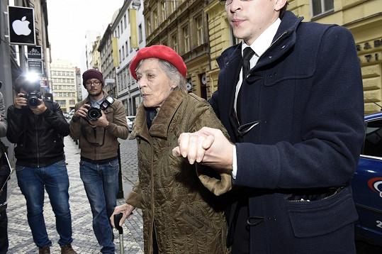 Luba Skořepová s Pavlem Kloudem