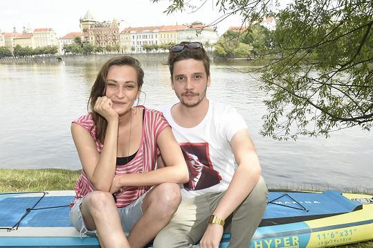 Bára Jánová a Ladislav Ondřej potvrdili, že jsou pár.