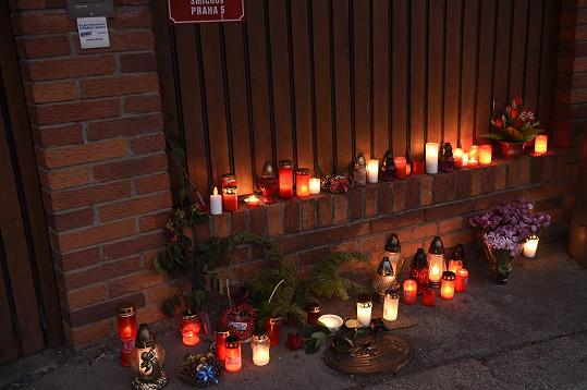 Svíčky u vily