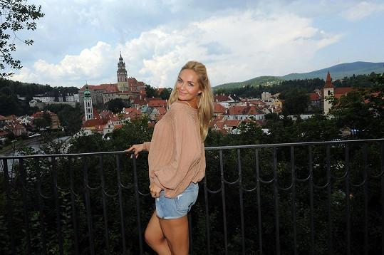 Český Krumlov se v pátek mohl pochlubit další krásou navíc...