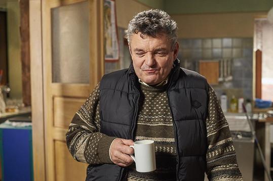Jiří Štrébl dostal nakládačku kvůli roli Miloše v seriálu Ulice.