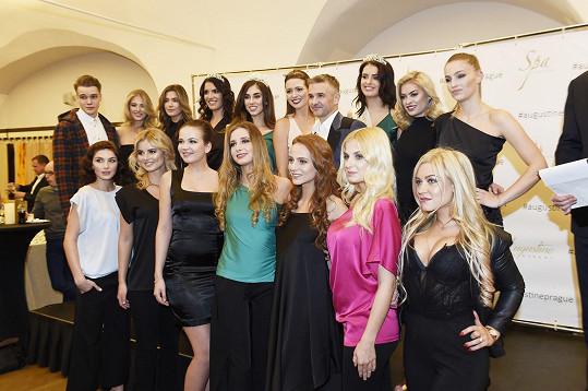 Blogerka na zahájení dalšího ročníku České Miss